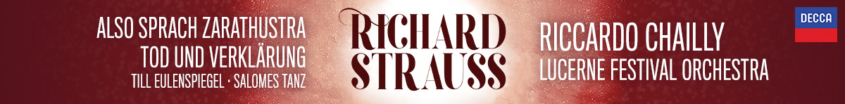 Riccardo Chailly conducts Richard Strauss