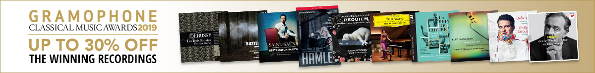 Gramophone Awards - up to 30% off 2019 winners