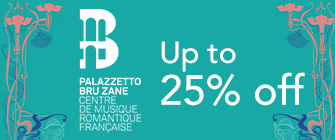 Bru Zane - up to 25% off