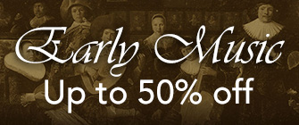 Early Music - up to 50% off