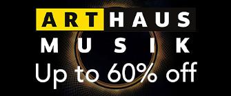 Arthaus Musik - up to 60% off