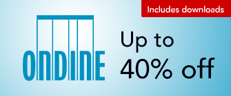 Ondine - up to 40% off, including downloads