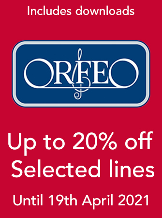 Orfeo - Up to 20% off selected titles