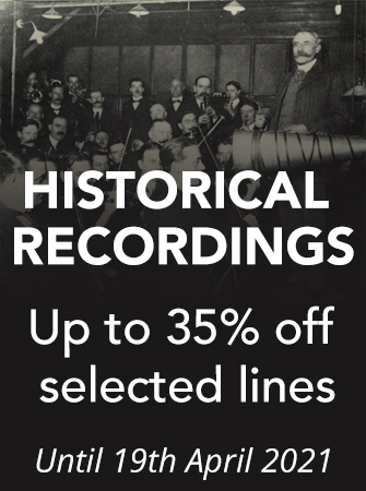 Historical Recordings - Up to 35% off selected lines