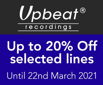 Upbeat - Up to 20% selected lines