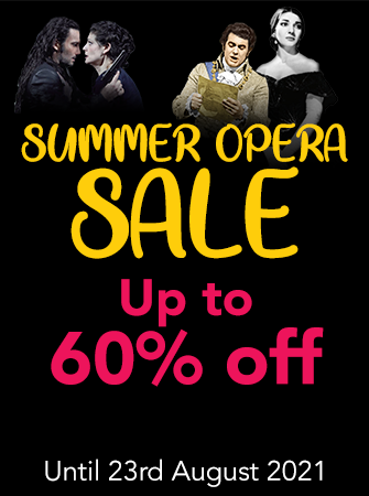 Summer Opera Sale - Up to 60% off selected lines