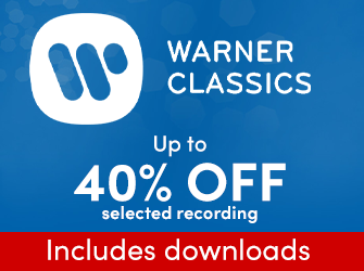 Warner Classics - Up to 40% off selected lines