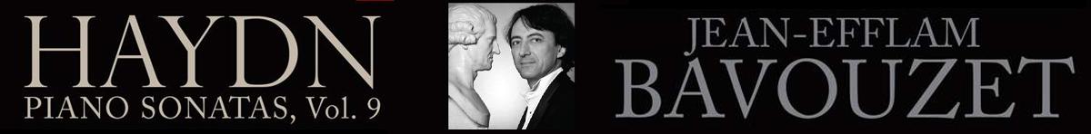 Haydn: Piano Sonatas Vol. 9  Jean-Efflam Bavouzet (piano)
