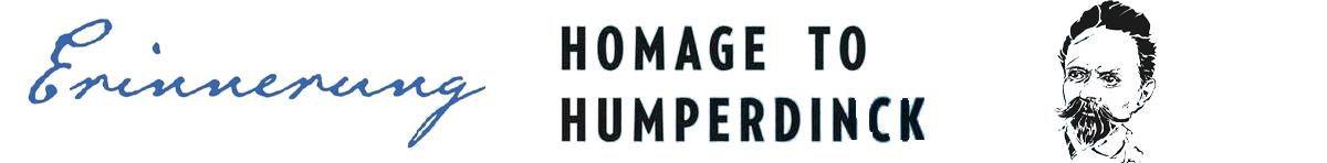 Erinnerung: Homage To Humperdinck