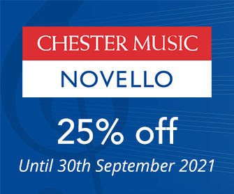 Chester Music and Novello - 25% off