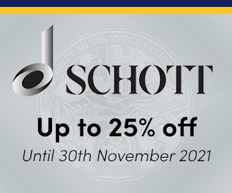 Schott - up to 25% off