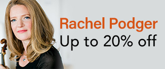 Rachel Podger - up to 20% off