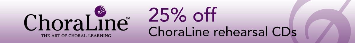 ChoraLine - 25% off