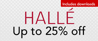 Hallé - up to 25% off