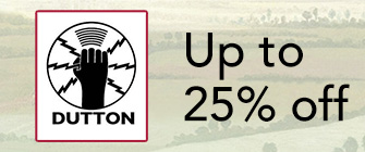 Dutton - up to 25% off