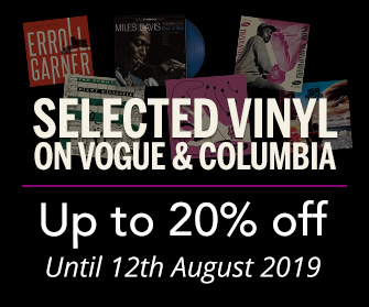 Selected Jazz Vinyl - up to 20% off until 12th August 2019