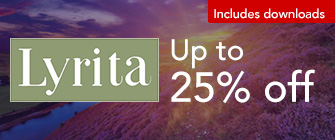 Lyrita - up to 25% off