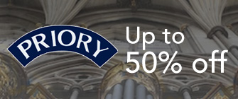 Priory - up to 50% off
