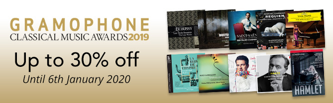 Gramophone Award Winners - up to 30% off