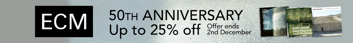 ECM - up to 25% off