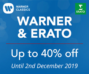 Warner & Erato - up to 40% off