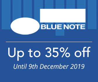 Blue Note - up to 35% off