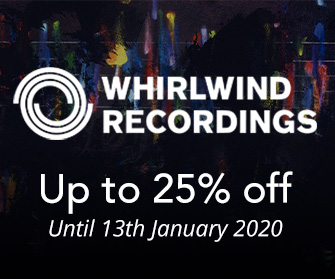 Whirlwind Recordings - up to 25% off