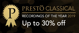 Presto Recordings of the Year 2019 - up to 30% off