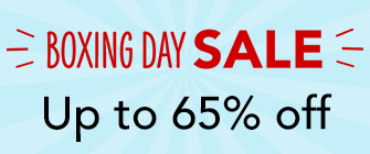 Boxing Day Sale - up to 65% off