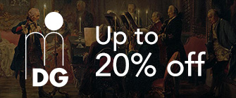 MDG - up to 20% off