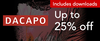 Dacapo - up to 25% off