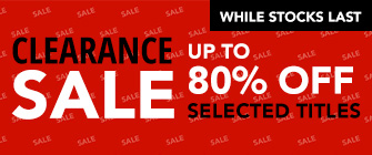 Clearance Sale - up to 80% off, while stocks last