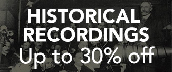 Historical Recordings - up to 30% off