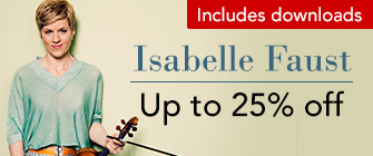 Isabelle Faust - up to 25% off