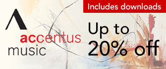 Accentus Music - up to 20% off
