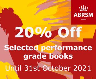 ABRSM Performance Grades - 20 % off