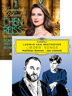New Beethoven vocal albums from Matthias Goerne and Chen Reiss
