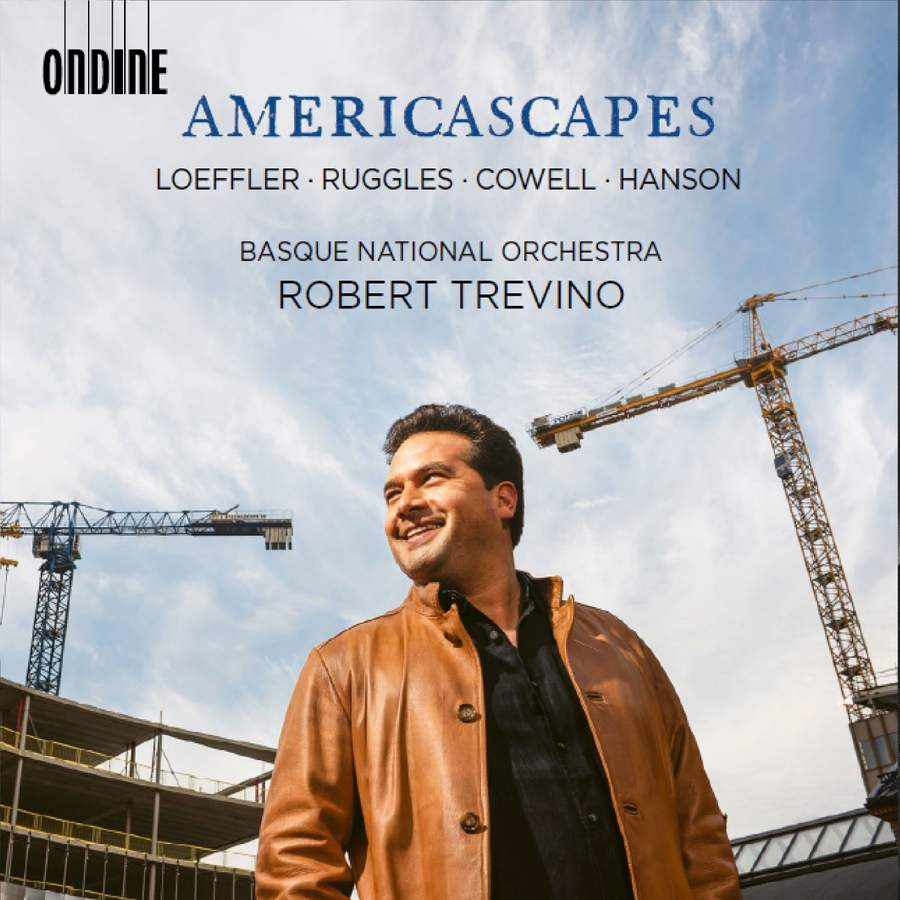 Americascapes  Basque National Orchestra, Robert Trevino