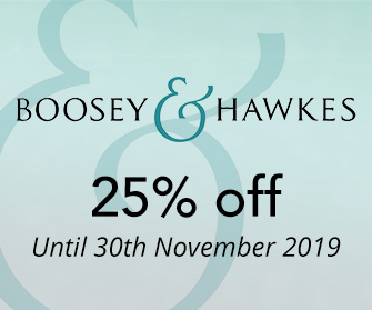 Boosey & Hawkes - 25% off