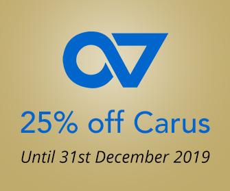 Carus - 25% off
