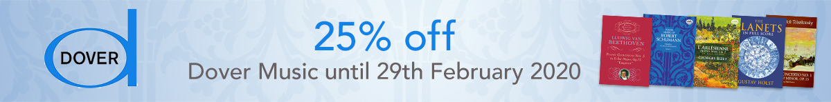 Dover: 25% off until 31st January 2019