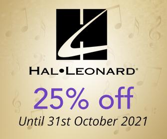 Hal Leonard - 25% off