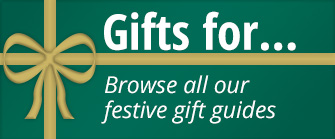 Gifts for… Browse all our festive gift guides