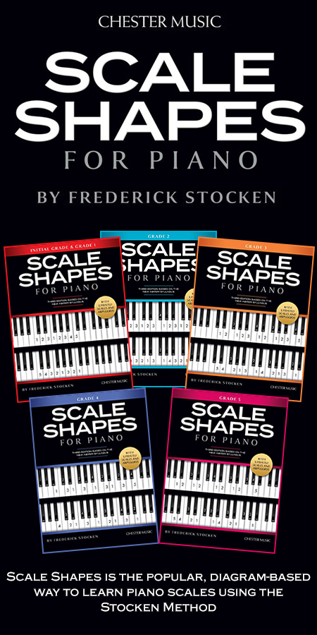 Scale Shapes For Piano