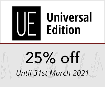 Universal Edition - 25% off