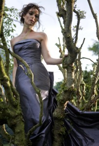 Kate Royal (stuck in a tree)