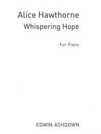 A. Hawthorne: Whispering Hope