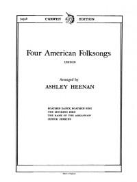 A. Heenan: Four American Folksongs