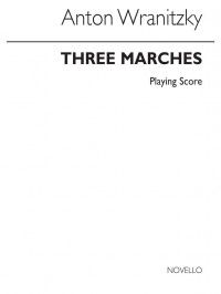 Anton Wranitzky: Three Marches for Three Clarinets (Player's Score)