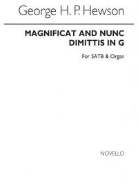 George H.P. Hewson: Magnificat And Nunc Dimittis In G